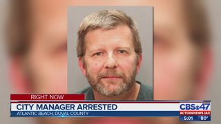 Atlantic Beach city manager arrested
