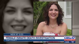 Female inmate death investigation in Clay County