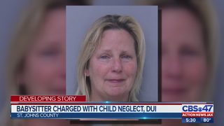 St. Johns County babysitter charged with child neglect, DUI