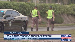 Jacksonville residents raise concerns about dangerous intersection