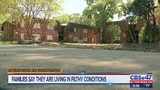 Families say they are living in filthy conditions