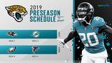 2019 Jaguars preseason schedule