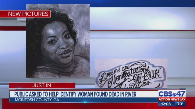 Woman's body found in river of Mcintosh County