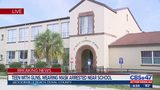 Teen with guns, wearing rolled-up ski mask arrested at Jacksonville Beach school