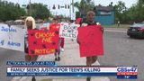 Family seeks justice for teen's killing