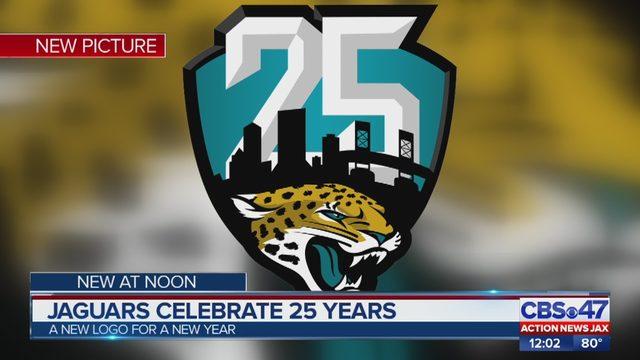 c1d4cfb8e78 Jacksonville Jaguars unveil new logo to celebrate 25th season