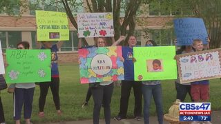 Jacksonville parents, providers rally against Medicaid cuts that would impact kids with autism