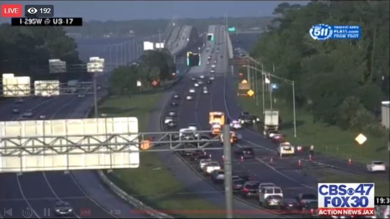 Buckman Bridge: FHP: Deadly crash reported on I-295 near