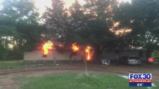 Local teen helps save her family from a house fire