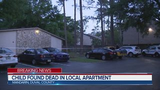 Child found unresponsive in apartment dies
