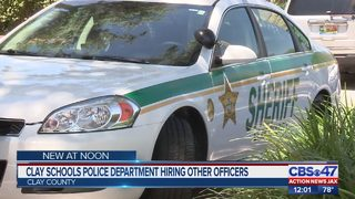Clay County schools police department hiring others officers