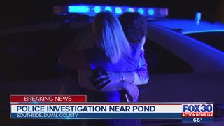 Police investigating near pond on Jacksonville