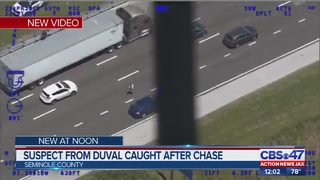 Watch: Wanted Jacksonville man bolts across I-4 after minor crash