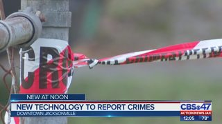 New technology to report crimes