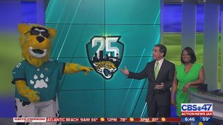 The Roar of the Jags and Jaxson de Ville visit ANJ studios