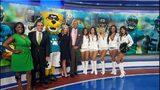 Jags cheerleaders visit our studios