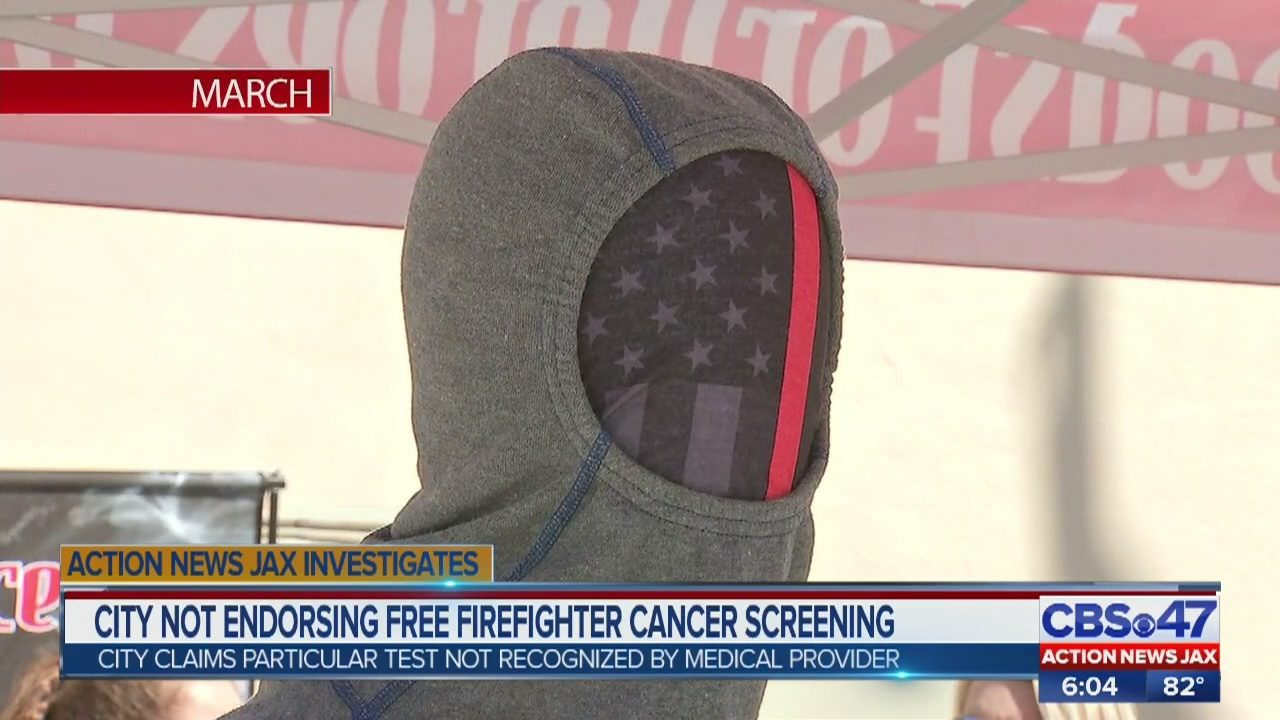 Jacksonville Beach not endorsing free cancer screening being