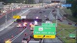 Overturned semi on I-295 NB at San Jose Blvd.