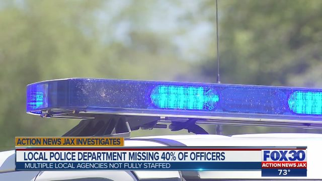 St  Marys police department missing nearly half its force