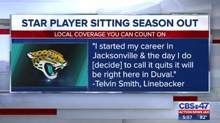 Jacksonville Jaguars linebacker Telvin Smith announces he is not playing football this season