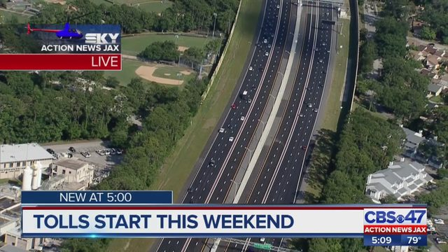 EXPRESS LANE JACKSONVILLE: What you need to know ahead of opening of I-295 express lanes in Jacksonville