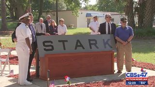 Families, survivors honor 37 lives lost in USS Stark attack 32 years ago
