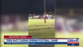 Terry Parker High School principal reacts to shooting outside school football game