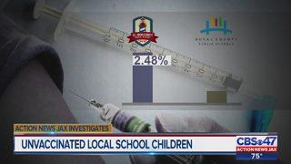 Action News Jax Investigates unvaccinated local schoolchildren