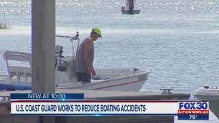 U.S. Coast Guard works to reduce boating accidents