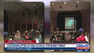 Mandarin High School students, staff returning to classes after bomb threat lockdown