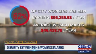 Action News Jax Investigates: Why city of Jacksonville pays some women less than men for same job