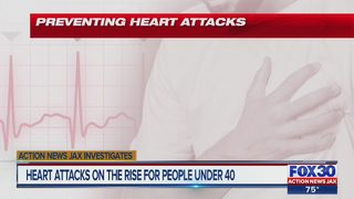 Heart attacks on the rise for people under 40