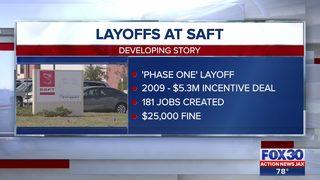 Layoffs at Saft America