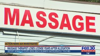 Massage therapist loses license years after allegation