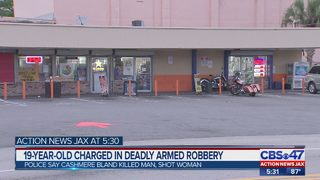 19-year-old charged in deadly Jacksonville armed robbery