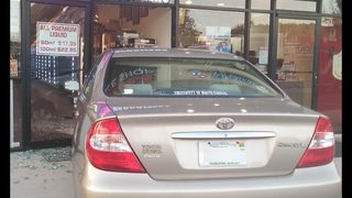 ST. JOHNS COUNTY: Car crashes into vape shop