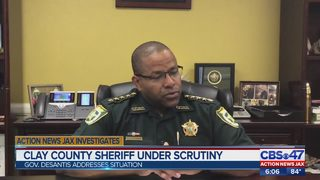 Clay County Sheriff under scrutiny