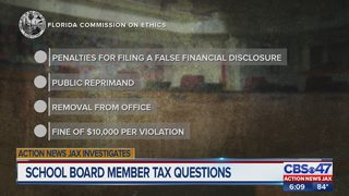 Duval County School Board member tax questions