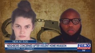 Neighbors concerned after violent home invasion