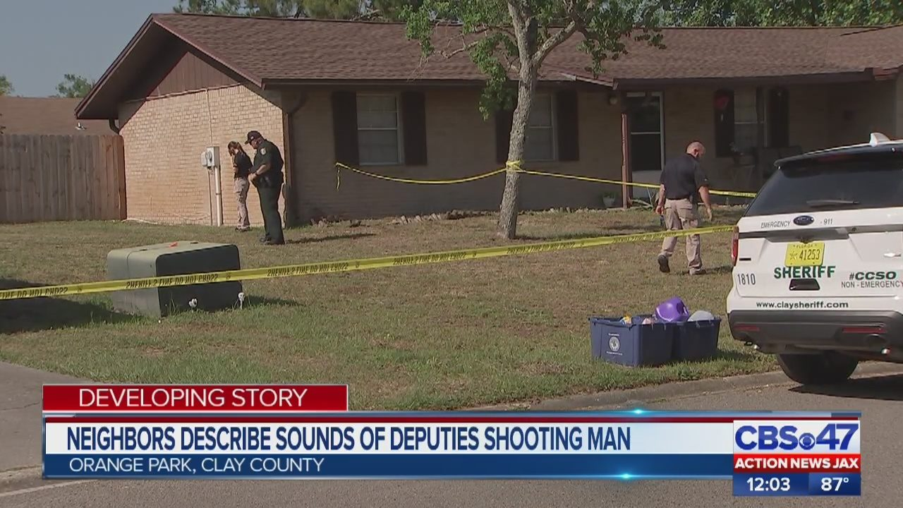 ORANGE PARK SHOOTING: Deadly deputy-involved shooting in