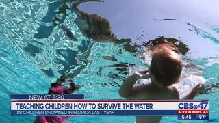 Teaching children how to survive the water