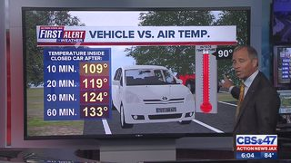Vehicle and heat temperature: Baby girl dies in hot van at day care