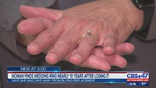 Wedding ring lost at Orange Park Medical Center by employee, found nearly 10 years later
