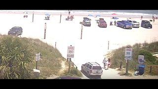 Surveillance footage emerges of Fernandina Beach sunbather hit-and-run