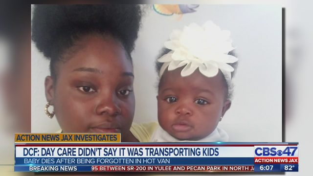 FLORIDA HOT CAR BABY DEATH: Mother of infant found dead in van outside of Jacksonville day care speaks out on social media