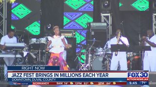 Jazz Fest brings in millions each year in Jacksonville