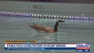 8 public pools closed for holiday weekend