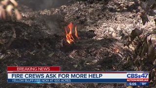Fire crews ask for more help