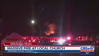 JFRD: Fire at Collins Road Baptist Church brought under control