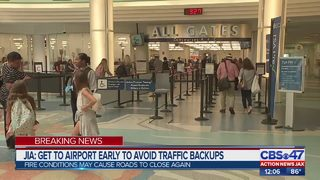 JIA: Get to airport early to avoid traffic backups
